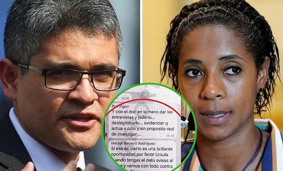 Difunden mensajes de Fuerza Popular para 'atacar' al fiscal José Domingo Pérez