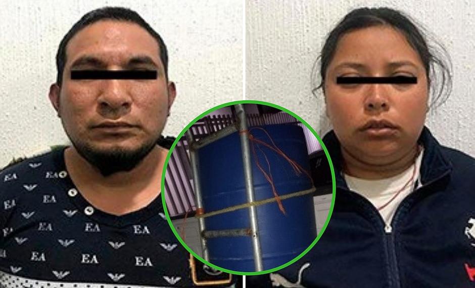Pareja enterró cuerpo de niñita de 4 años en un cilindro y dan insólita excusa