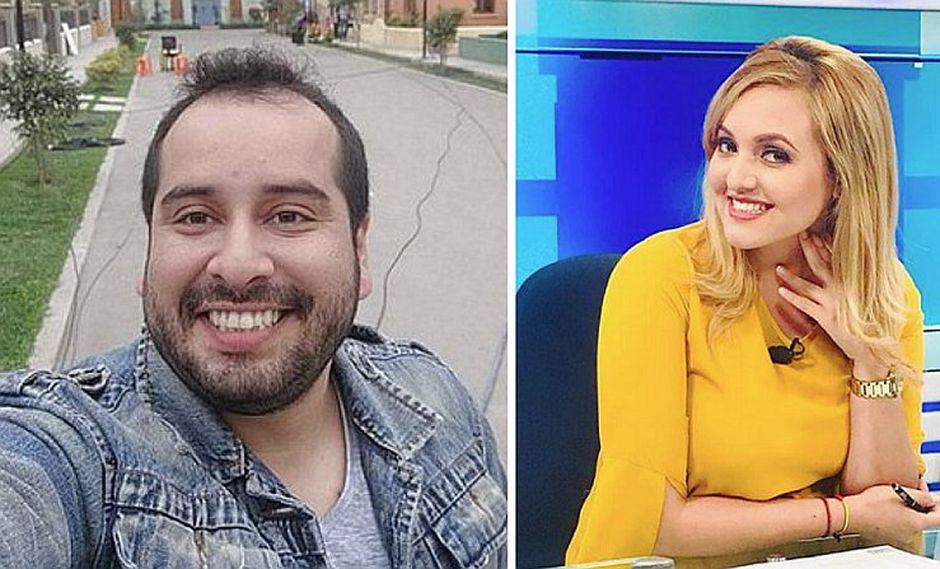 Junior Silva y la guapa periodista Carla Tello confirman romance (FOTOS)