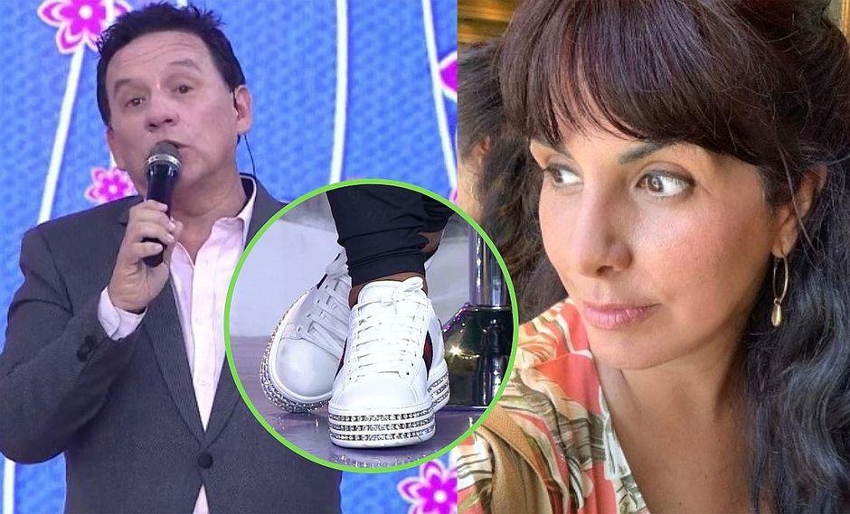 Carla García arremete contra Ricardo Rondón por decir precio de las zapatillas de Doña Peta