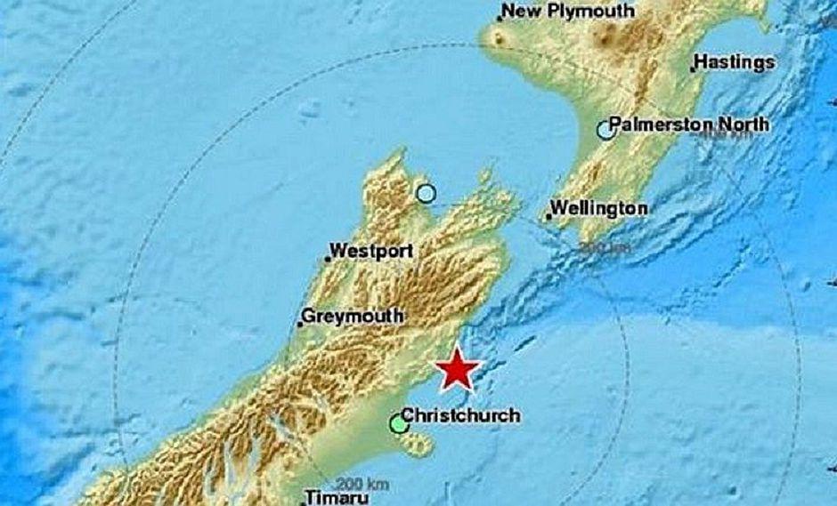 Potente terremoto sacude Nueva Zelanda y se emiten alerta de tsunami