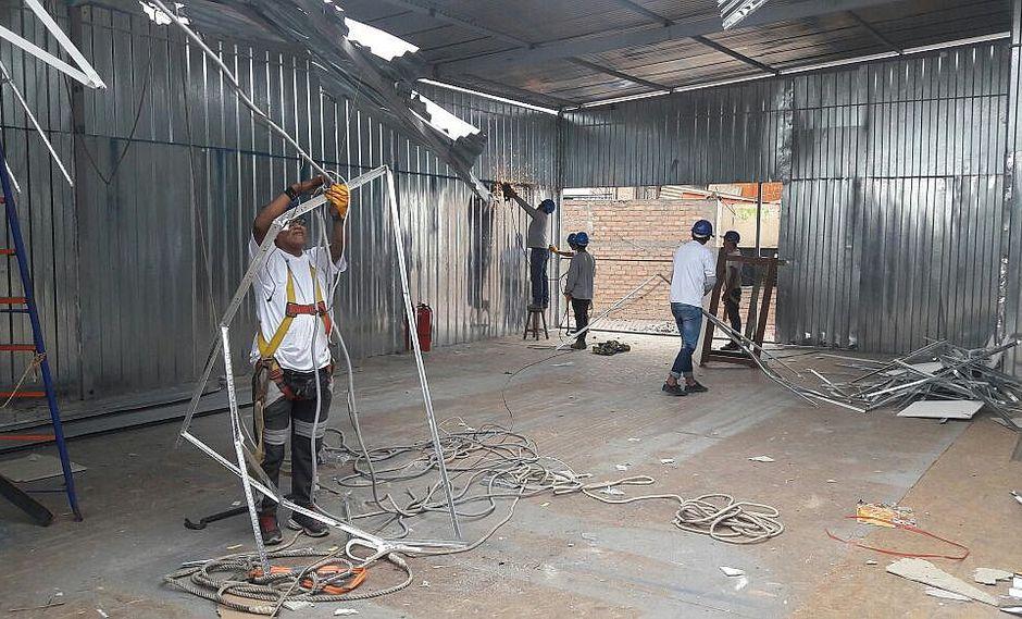 Mesa Redonda: Municipalidad de Lima inicia desmontaje de almacenes ilegales para evitar tragedia (VIDEOS)
