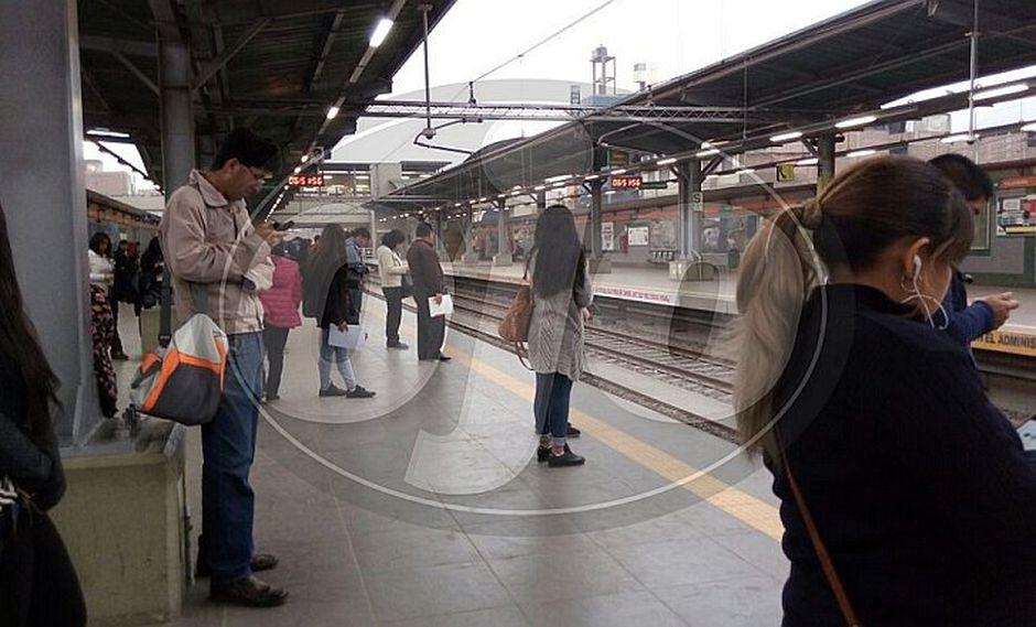 Metro de Lima: pasajeros quedan varados por fallas mecánicas en la Línea 1 (VIDEO)
