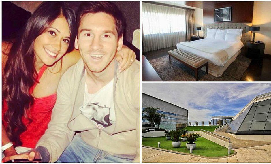 """La boda de Messi y Antonella: esta es la habitación que ocuparán tras darse el """"Sí"""" (FOTOS)"""