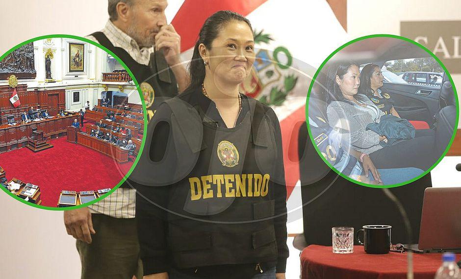 Congresistas faltan a sesiones de comisiones por visitar a Keiko Fujimori y estas son suspendidas