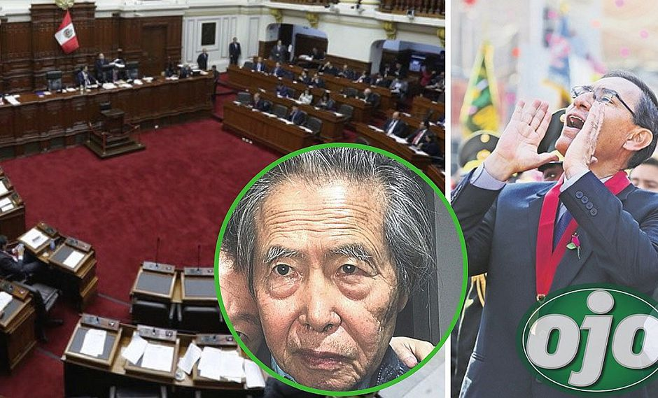 Martín Vizcarra no quiere 'Ley Fujimori' y envía observación al Congreso