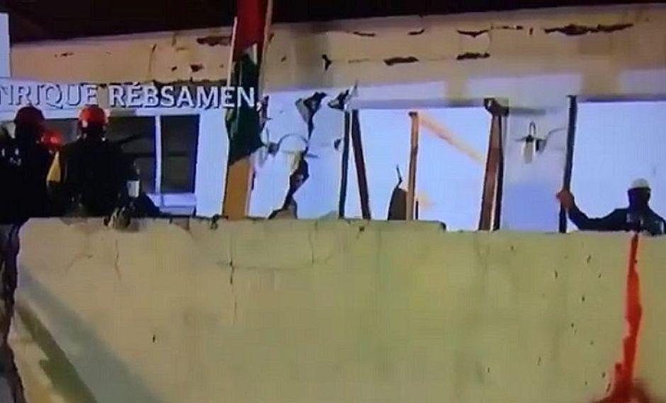Terremoto en México: supuesto espectro se hizo presente en colegio derrumbado (VIDEO)