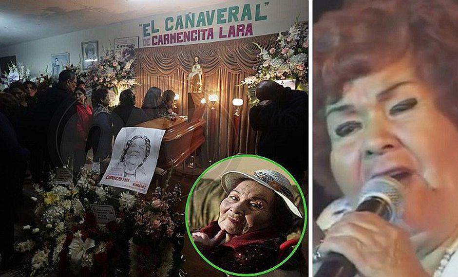 """Hijas relatan que Carmencita Lara """"se fue tranquila y no sufrió"""""""