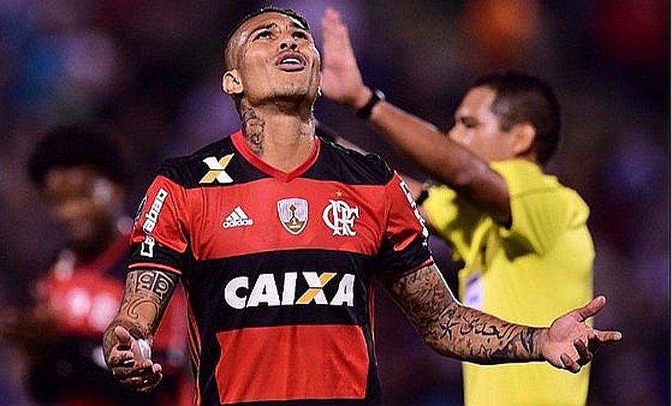 Paolo Guerrero y la fuerte sanción que recibiría del Flamengo según prensa brasileña