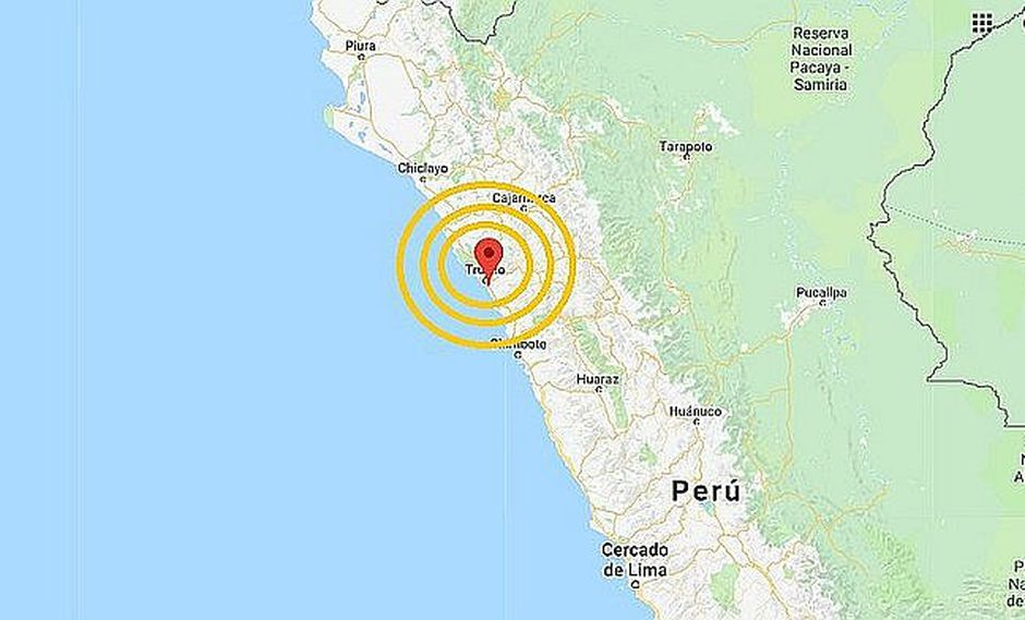 Sismo de 5.0 grados se registró en Trujillo