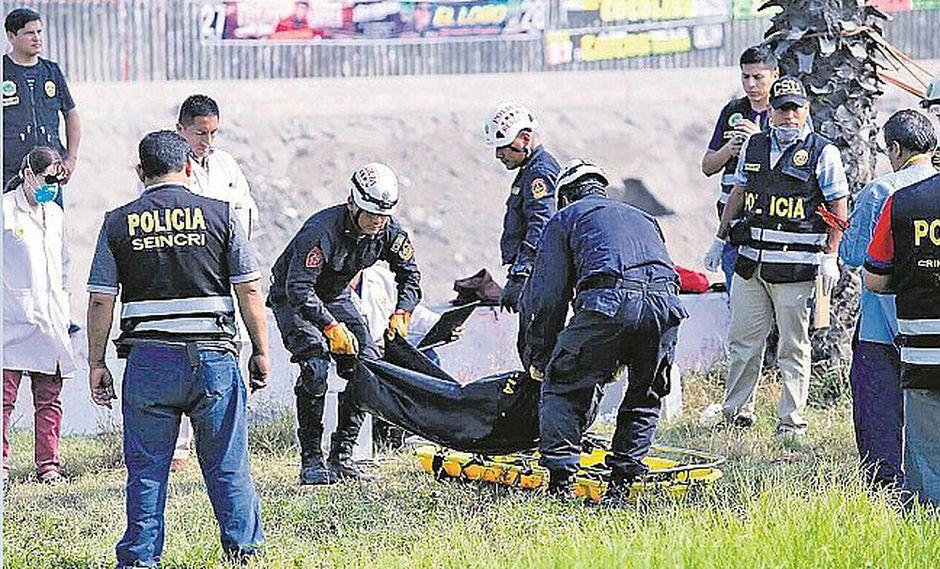 Hijo de Policía aparece muerto en el río Rímac
