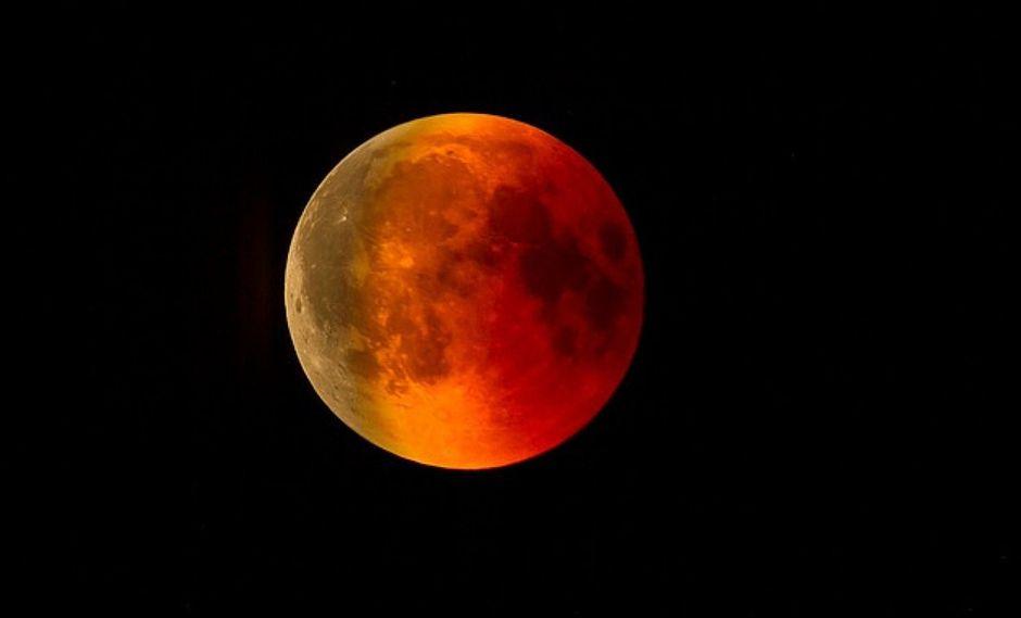 """La """"Luna Roja"""" llega hoy 20 de enero y se podrá ver en todo el Perú"""