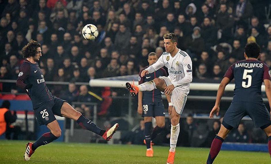 Real Madrid hunde al PSG al vencer en París 1-2 por la Champions