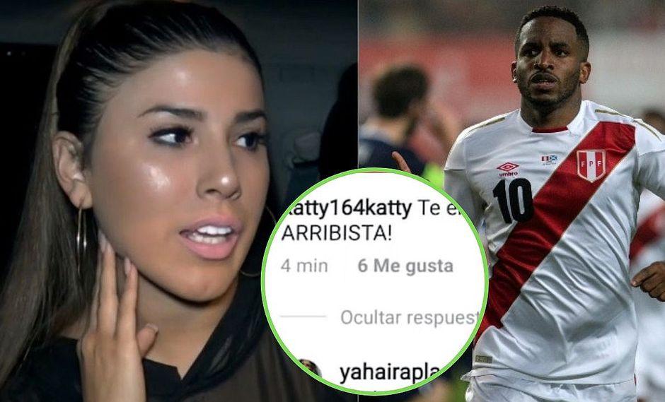"""Yahaira Plasencia se cansó y responde a usuaria que la llama """"arribista"""" por Jefferson Farfán"""