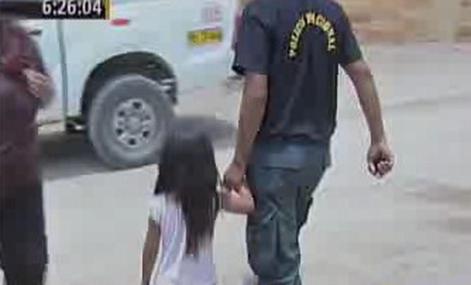 Niña de cinco años se salva de ser violada por tres sujetos