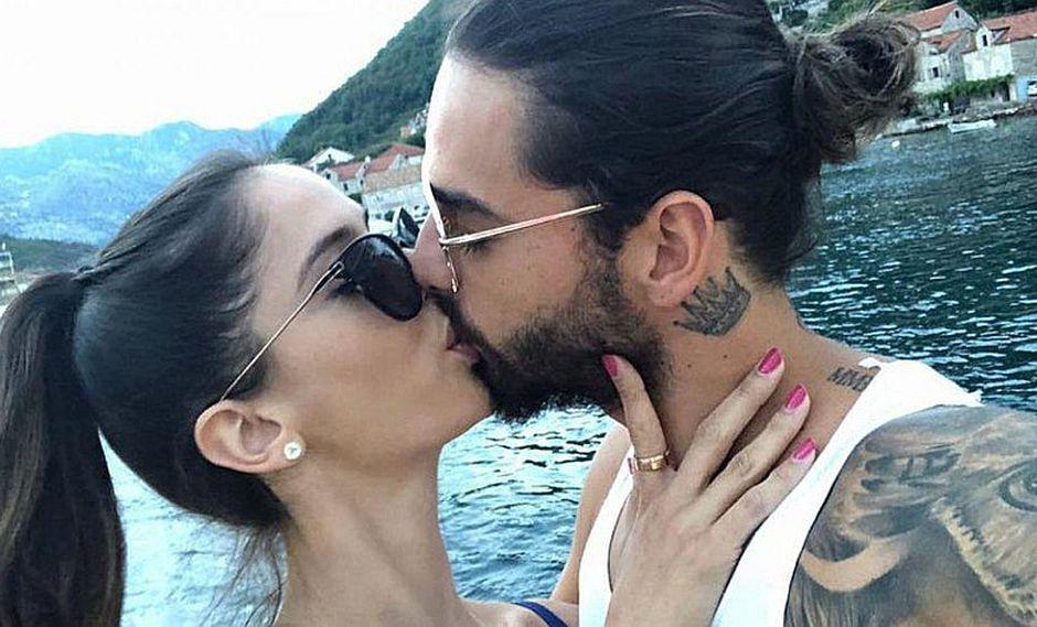 Maluma y su novia en 6 fotos que puedes imitar con el amor de tu vida