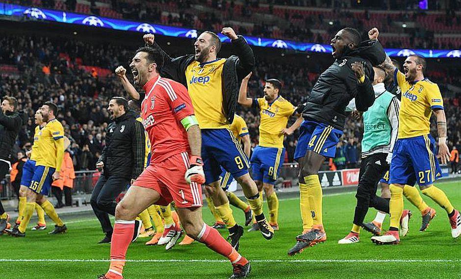 Juventus continúa en la Champions al vencer 1-2 al Tottenham