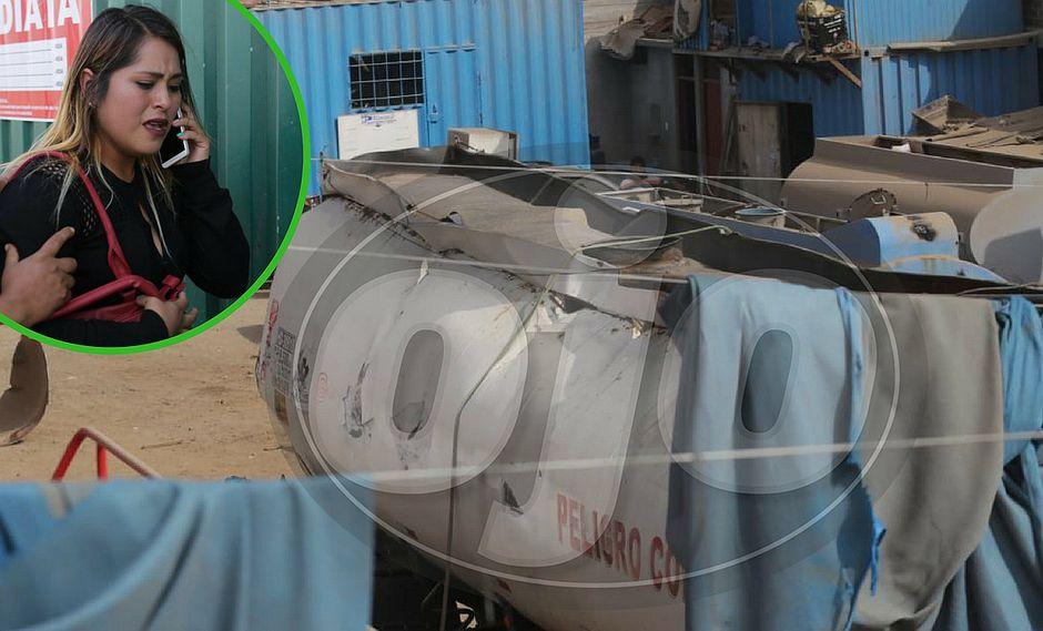 Un muerto y dos heridos deja explosión de fábrica en Ate