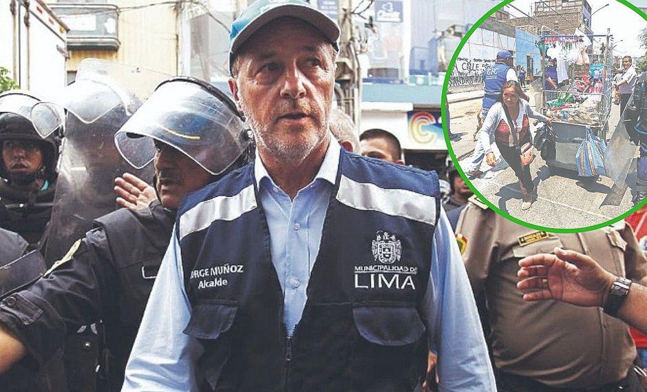Jorge Muñoz coordina intervención en Av. Aviación: Lima sacará a ambulantes
