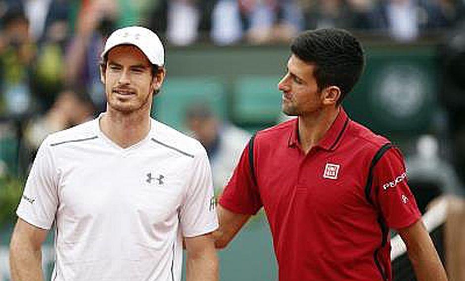 Andy Murray y Novak Djokovic juegan la final deseada por el número uno