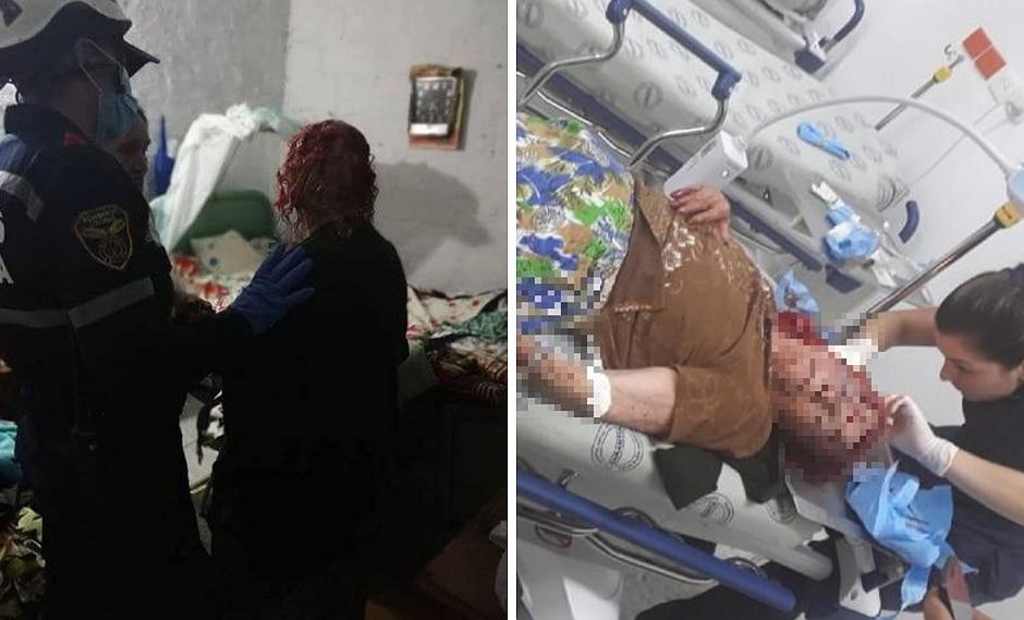 Ladrones golpean brutalmente a abuelita de 87 años y le roban hasta los dientes postizos