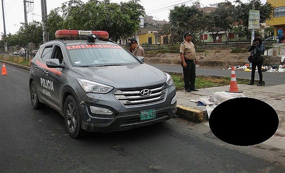 Carabayllo: indigente muere arrollado y vehículo se da a la fuga (VIDEO)