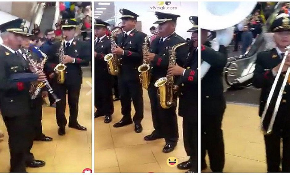 Fiestas Patrias: Policía Nacional vuelve a sorprender con espectacular show (VIDEO)
