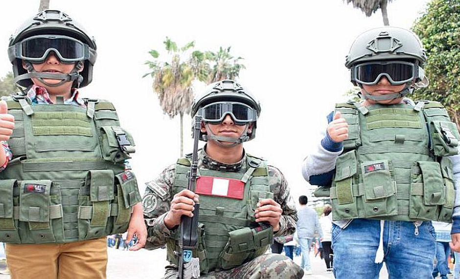 Ejército del Perú dicta cursos de verano para los más pequeños de la casa