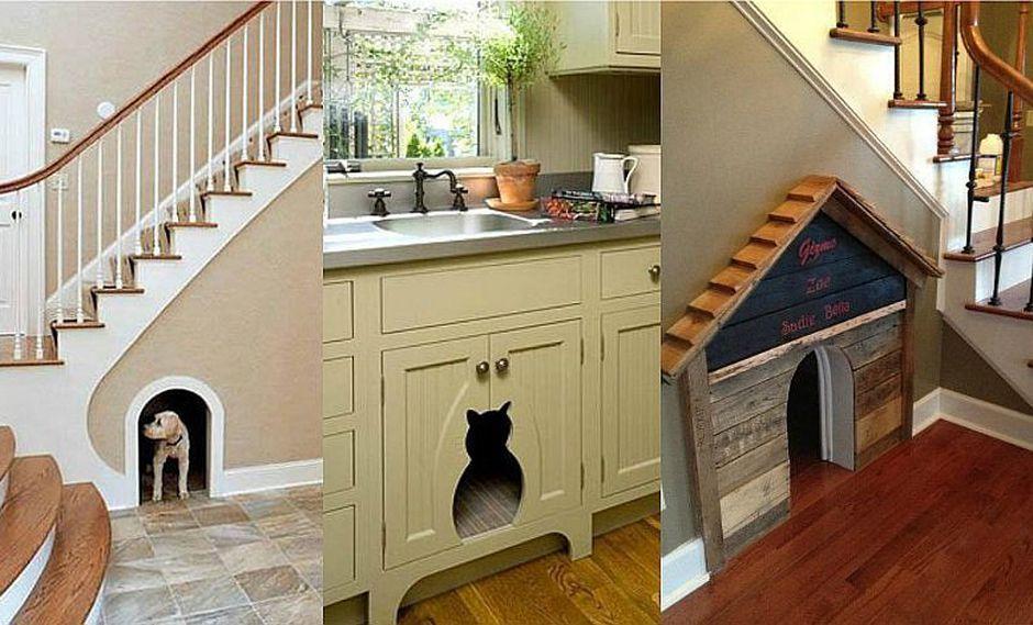 ¿Tienes una mascota? ¡Qué esperas para construirle su espacio propio en casa!