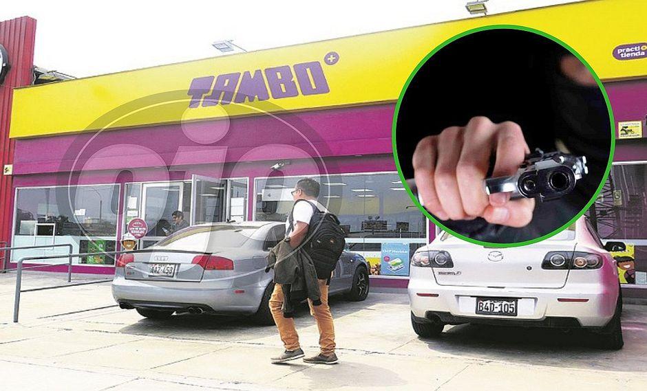 Asaltan conocido minimarket en Surco y se llevan caja registradora con dinero