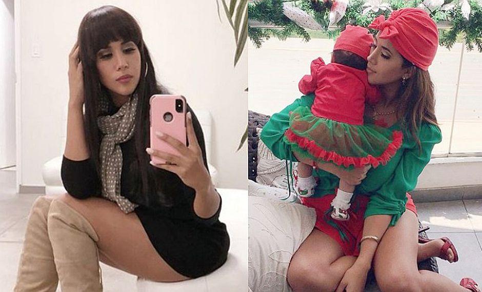 Melissa Paredes muestra dos hermosos accesorios de su hija Mía Cuba
