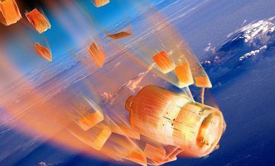 Nave espacial china se transformará en bola de fuego y amenaza al mundo