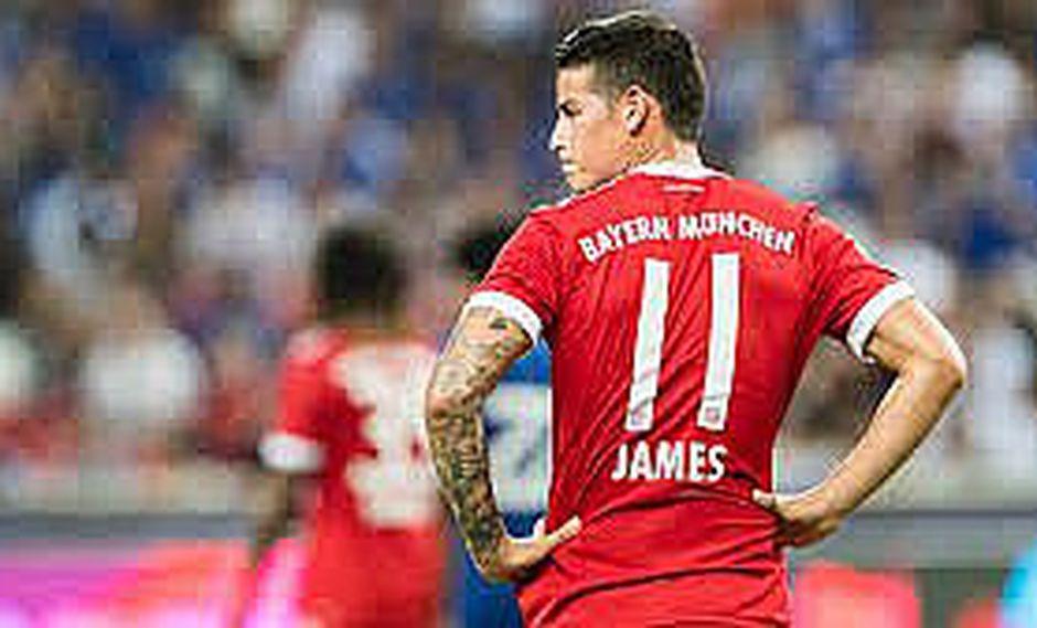 Bayern decidirá qué hacer con James según su juego hasta mitad del año