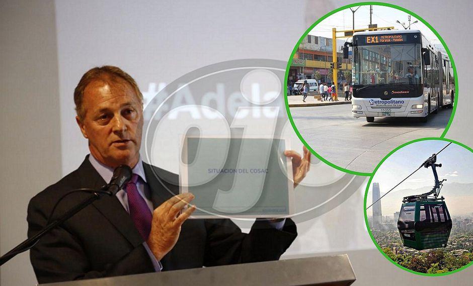 Las dos primeras obras que impulsará el alcalde electo Jorge Muñoz