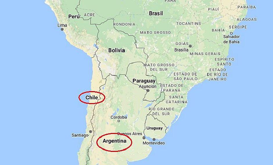 Argentina y Chile tiemblan con fuerte sismo de 6.4 grados