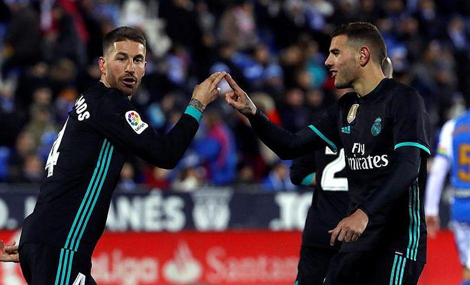 Real Madrid gana al Leganés 3-1 y sube al tercer lugar en España