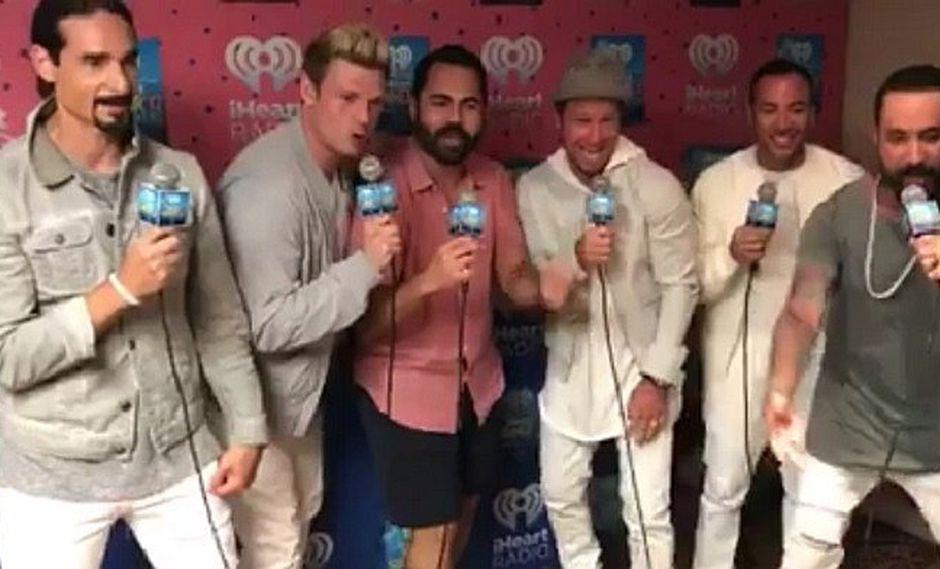 "Facebook: Backstreet Boys cantaron ""Despacito"" pero no le siguieron el ritmo VIDEO)"