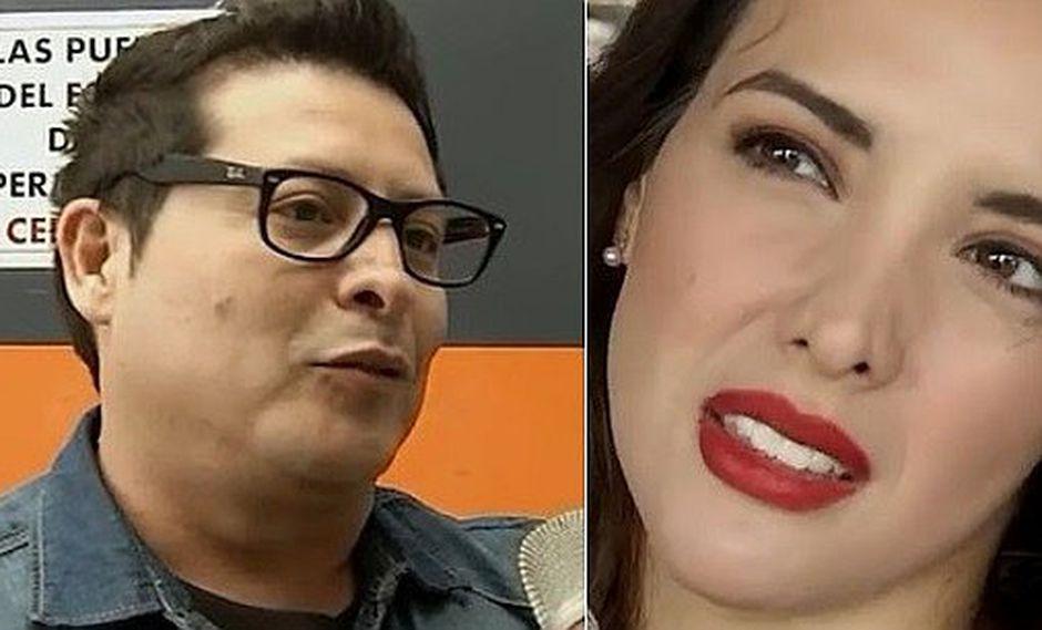 """Carloncho responde a Rosángela Espinoza tras mencionarlo: """"Yo no soy Yahairo"""""""