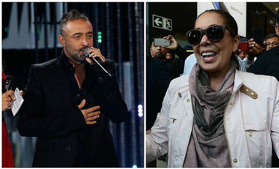 "Mario Domm, vocalista de Camila, le manda su ""chiquita"" a Isabel Pantoja"