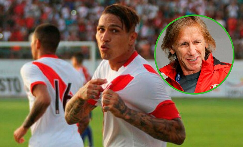 """Paolo Guerrero empieza una nueva campaña: """"Que Ricardo Gareca se quede en la selección peruana"""""""