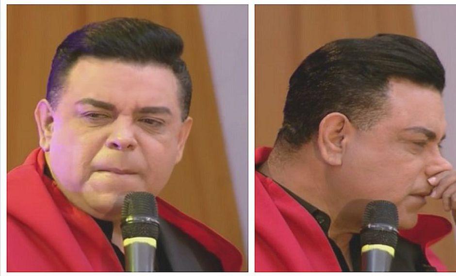 """Andrés Hurtado 'Chibolín' llora y llama """"asqueroso"""" a Nicolás Maduro (FOTOS)"""