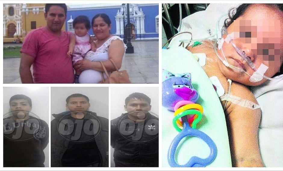 Inseguridad ciudadana: bebé baleada por delincuentes despierta del coma