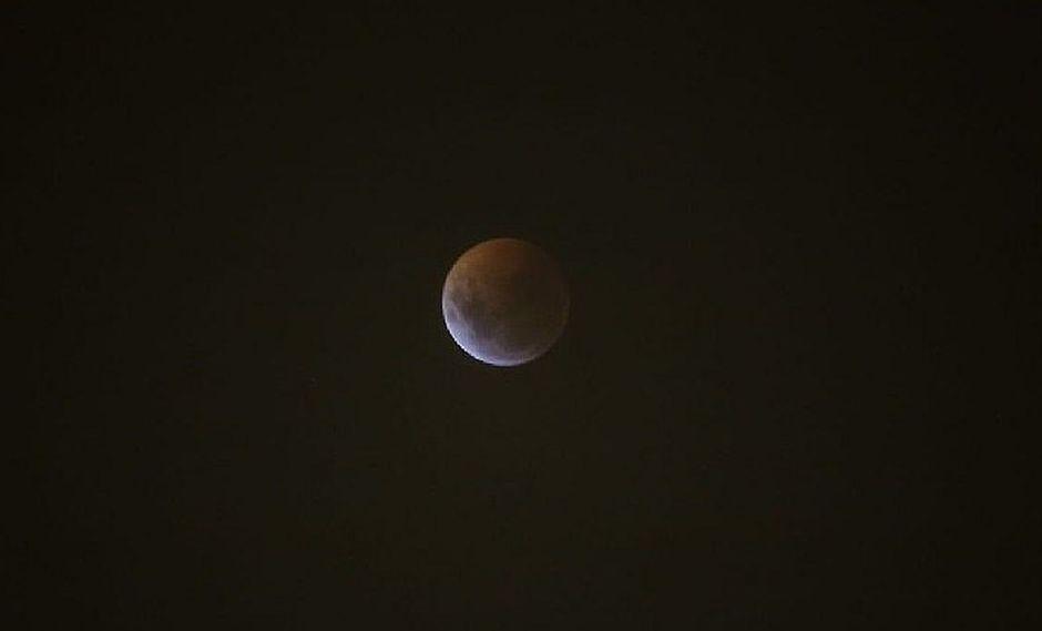 Eclipse lunar 2019: Superluna de sangre se vio así desde Lima (FOTOS)