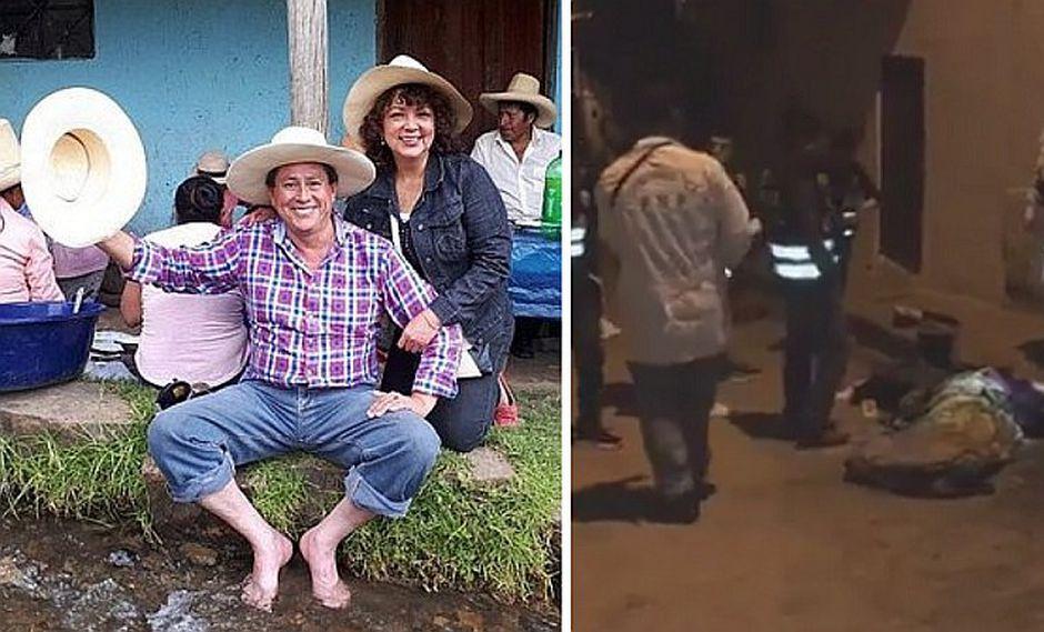 Presunto asesino de electo alcalde y su esposa es capturado en Cajamarca (VIDEO)