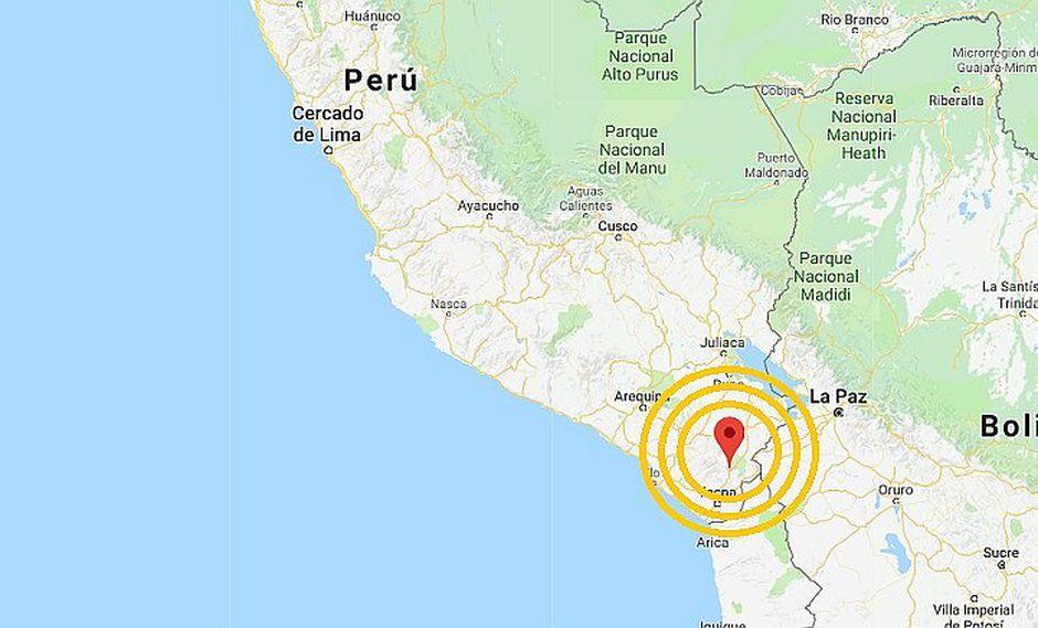 Tacna: sismo de magnitud 6.3 sacudió Tarata esta madrugada