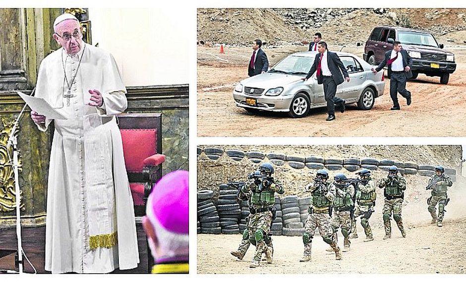 PNP alertó posible atentado contra Papa Francisco en Perú (FOTOS)