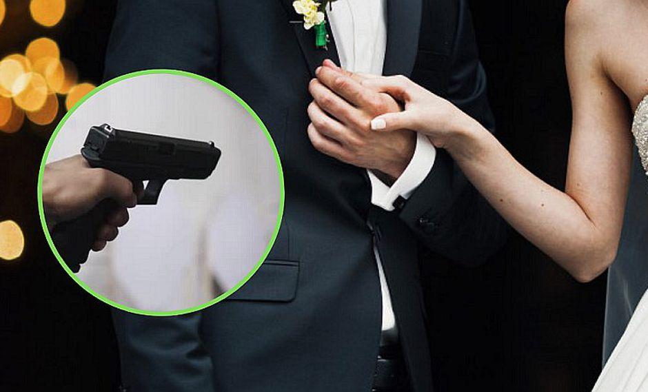 Novia es baleada durante su boda, se salva y regresa a la ceremonia para casarse