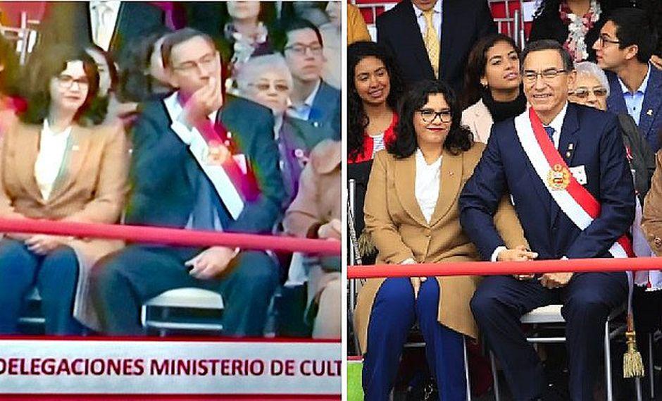 """Gilbert Violeta critica a Martín Vizcarra por sentarse con su esposa """"para comer canchita"""""""