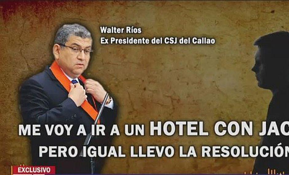 Audio muestra lo benigno que era Walter Ríos con los asuntos 'personales' de sus trabajadores