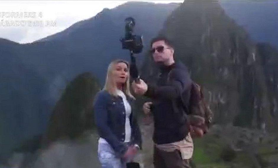 "Machu Picchu: prohiben uso de ""palitos"" para selfies"